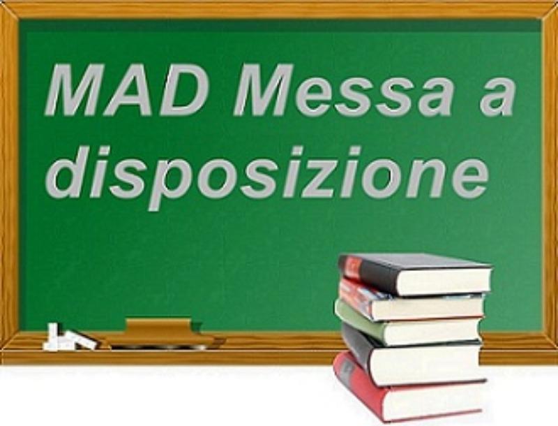 TERMINE PRESENTAZIONE DOMANDE DI MESSA A DISPOS...