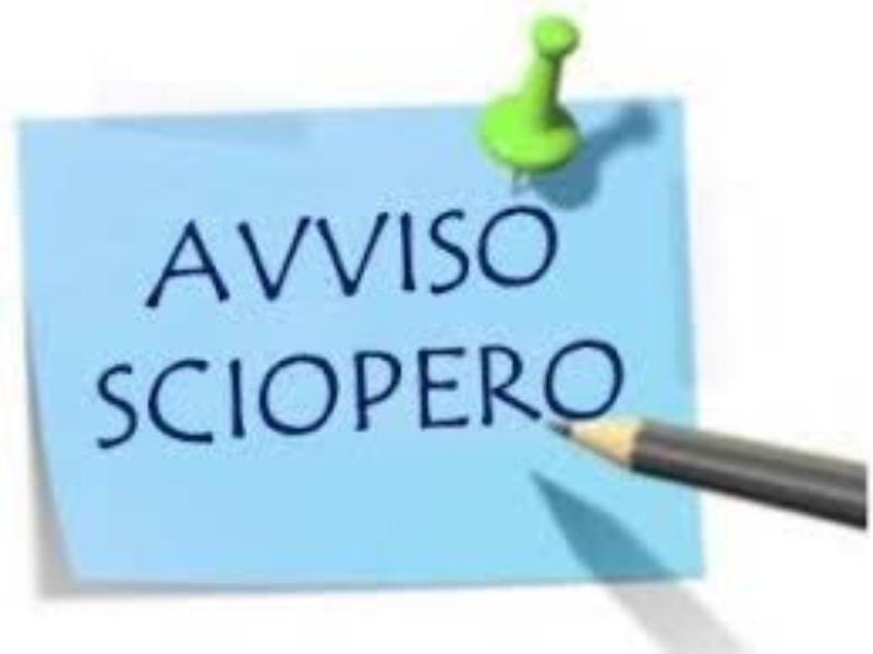 SCIOPERO GENERALE 25 NOVEMBRE 2020