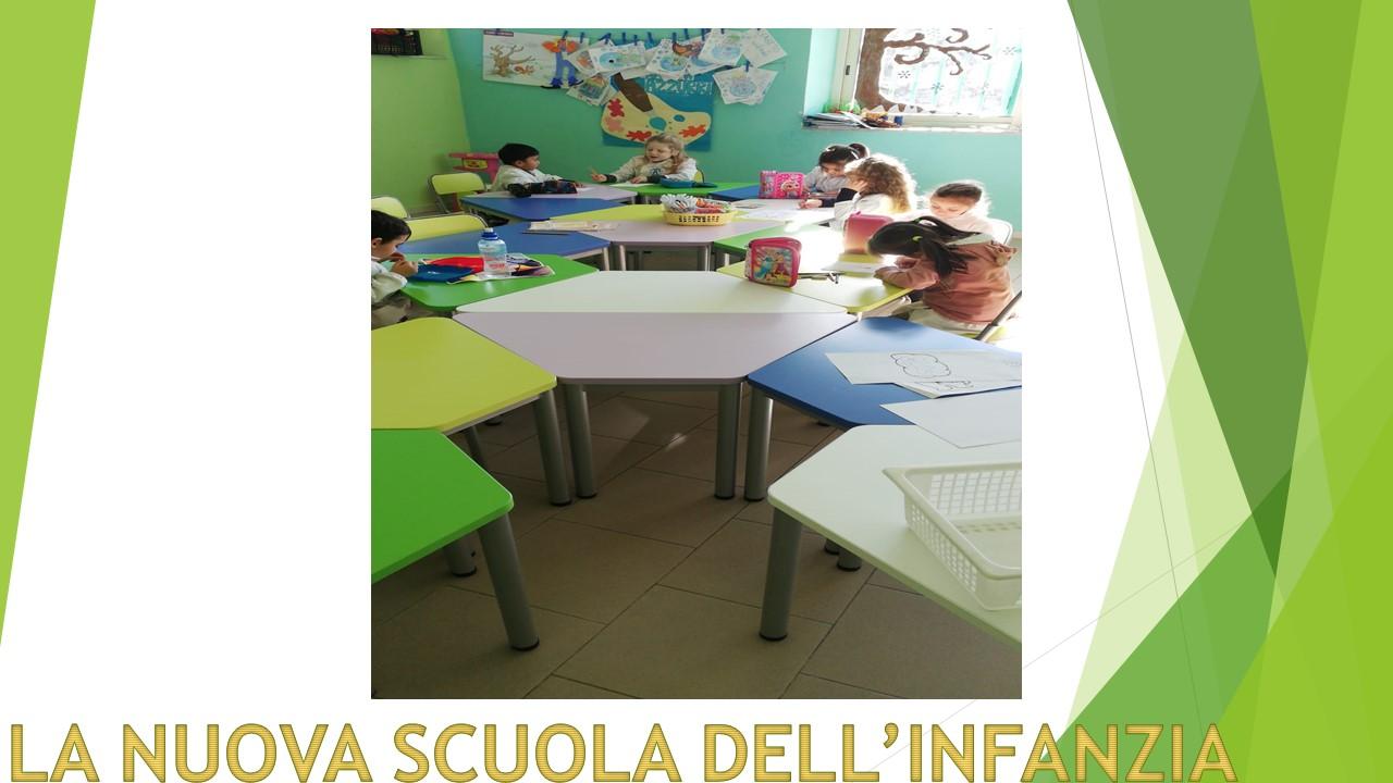 LA NUOVA SCUOLA DELL'INFANZIA DELL'  IC 5 ARTIACO