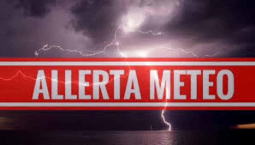 ALLERTA METEO GIORNO 6/11/2019